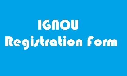 IGNOU Registration Form