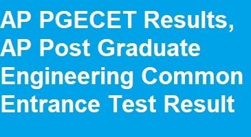 AP PGECET Results