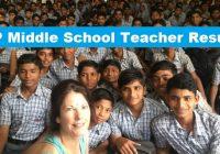 MP Middle School Teacher Result