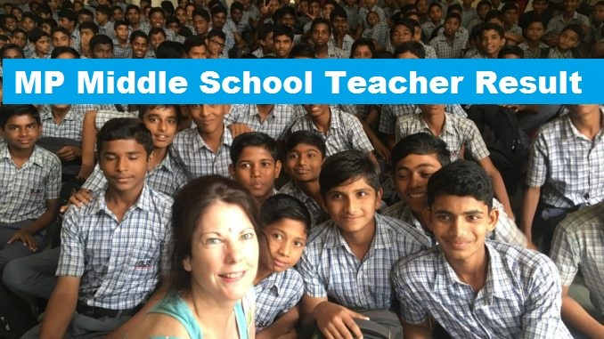 MP Middle School Teacher Result