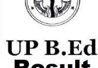 UP BEd Result