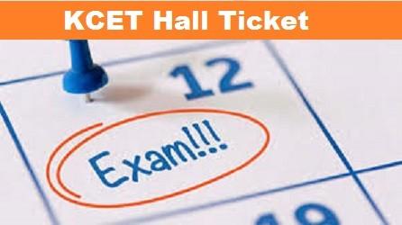 KCET Hall Ticket