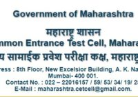 Maharashtra BEd CET Hall Ticket