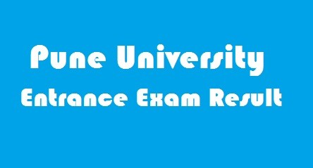 Pune University Entrance Exam Result