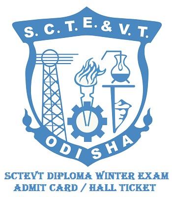 SCTEVT Diploma Winter Exam Admit Card