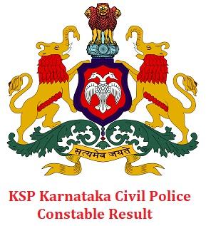 Karnataka Civil Police Constable Result