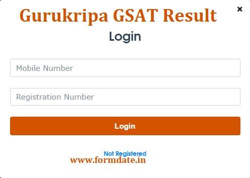 Gurukripa GSAT Result