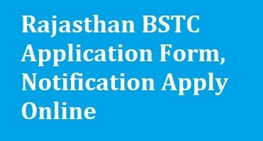 Rajasthan BSTC Application Form