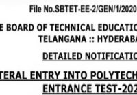 TS LPCET Hall Ticket