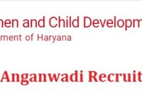 Haryana Anganwadi Recruitment