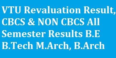 VTU Revaluation Result