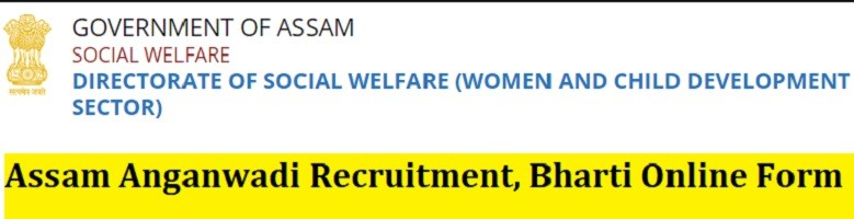 Assam Anganwadi Recruitment