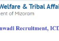 Mizoram Anganwadi Recruitment