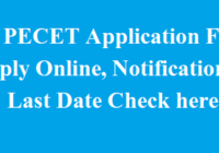 TS PECET Application Form