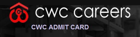 CWC Admit Card