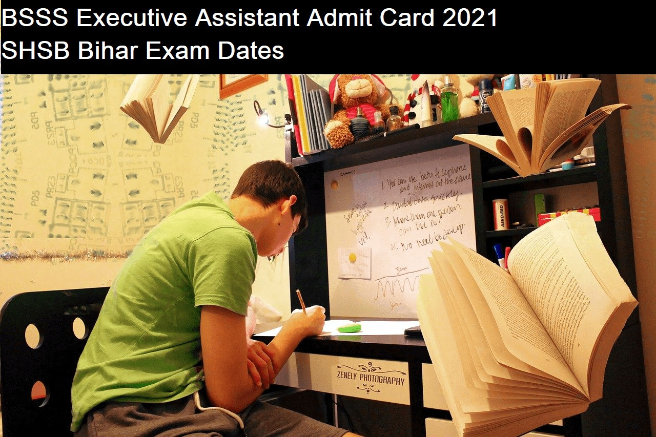 BSSS Executive Assistant Admit Card