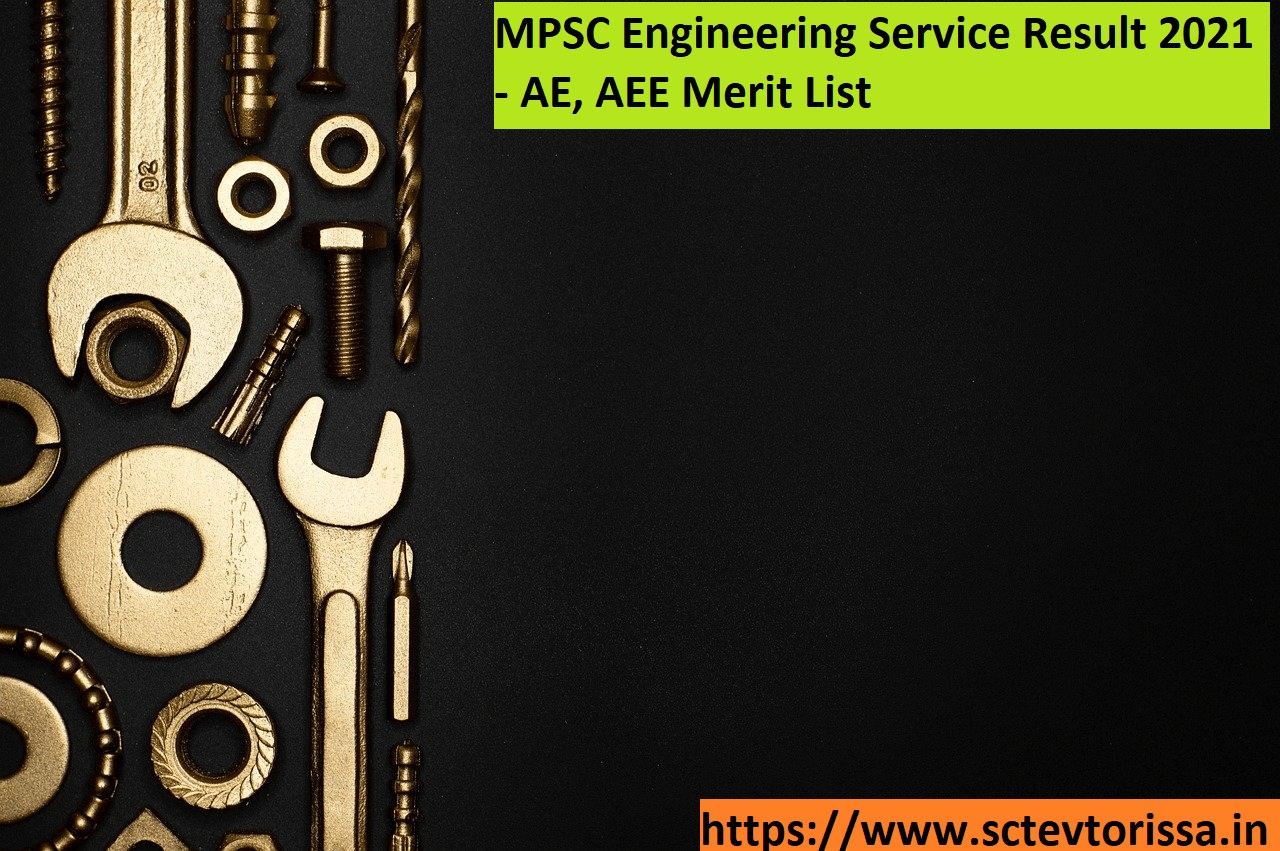 MPSC Engineering Service Result