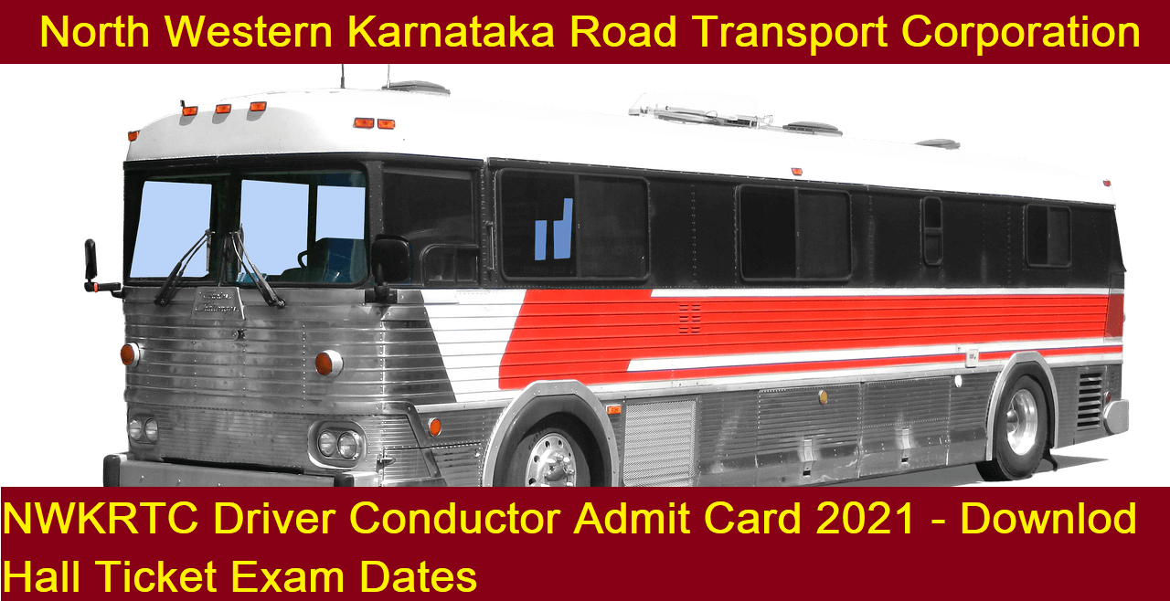 NWKRTC Driver Conductor Admit Card