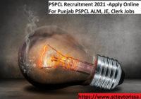 PSPCL Clerk Recruitment