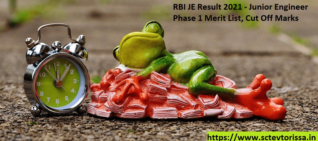 RBI Junior Engineer Result