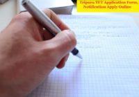Tripura TET Application Form