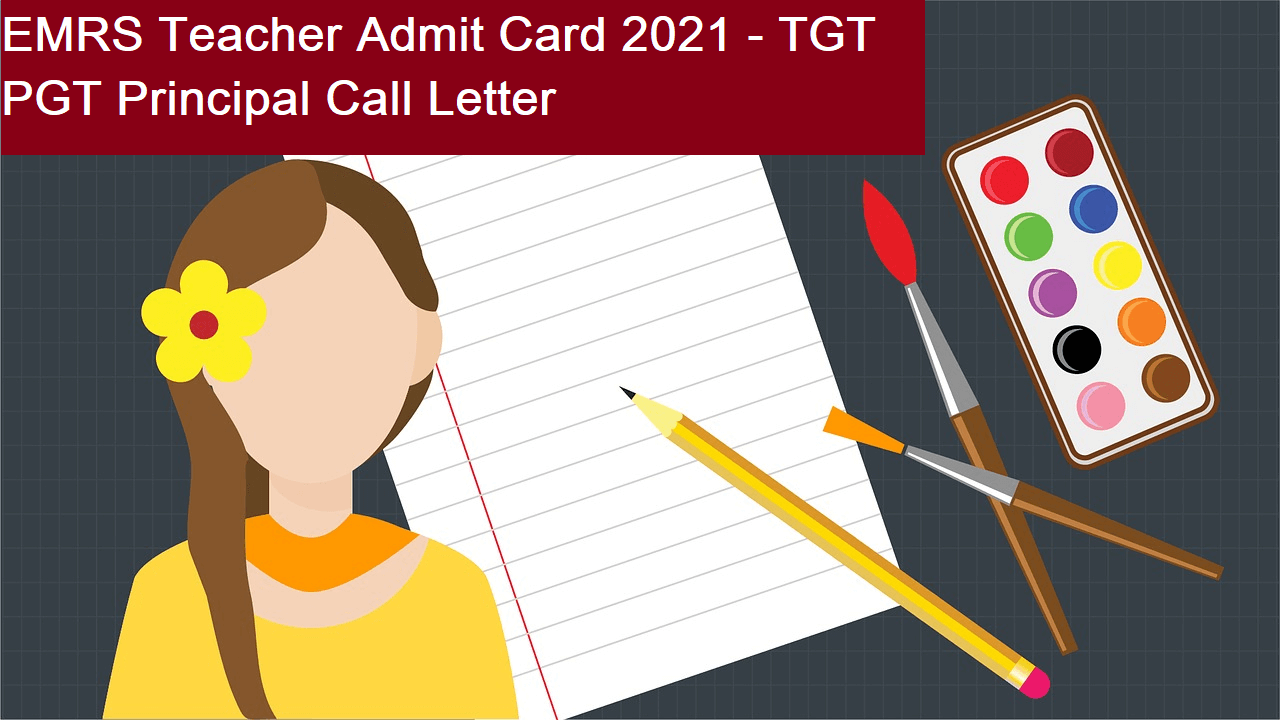 EMRS Teacher Admit Card