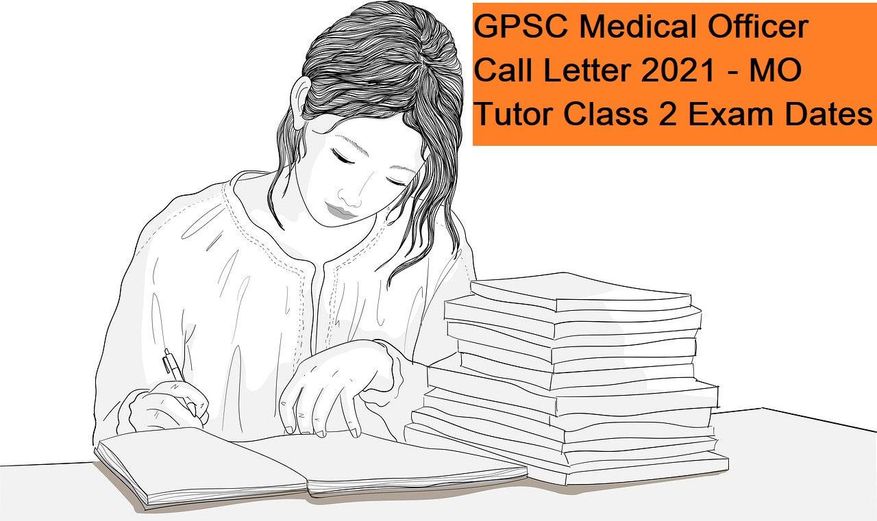 GPSC Medical Officer Call Letter
