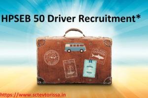 HPSEB Driver Recruitment