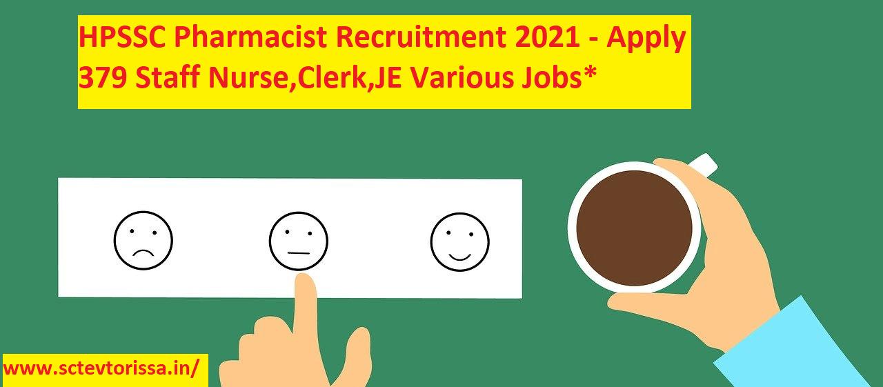 HPSSC Pharmacist Recruitment