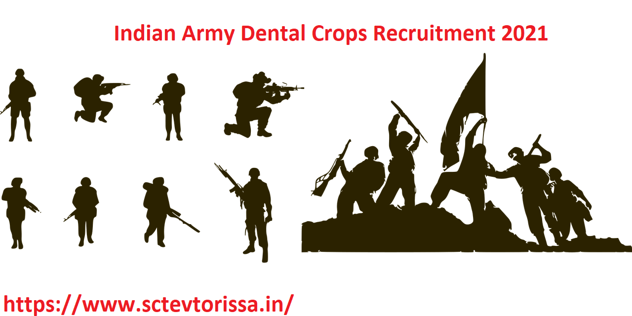 Indian Army Dental Crops Recruitment 2021