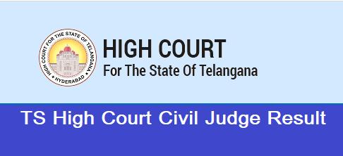 TS High Court Civil Judge Result