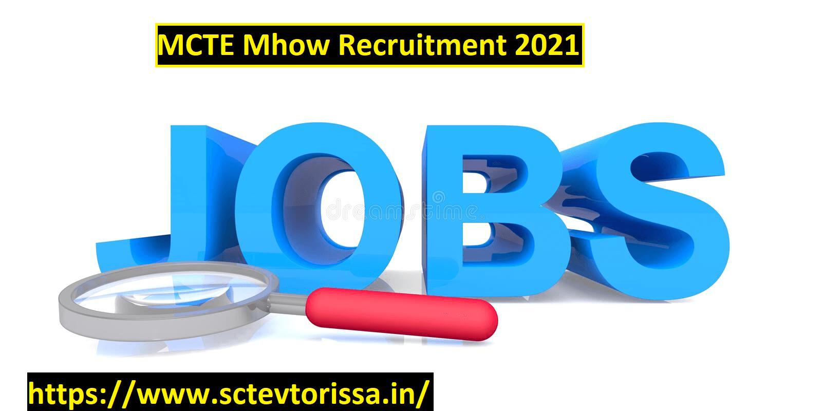 MCTE Mhow LDC Recruitment