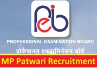 MP Patwari Recruitment 2021