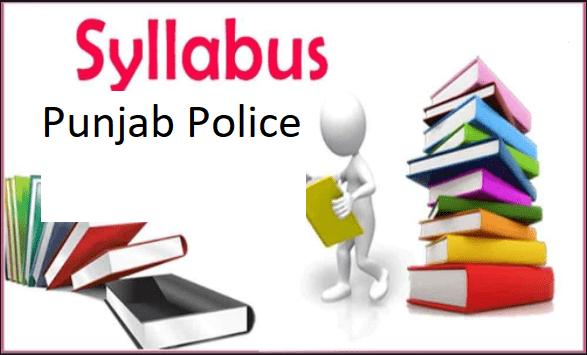 Punjab Police Constable Syllabus
